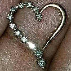 Jewelry - Diamond heart pendant